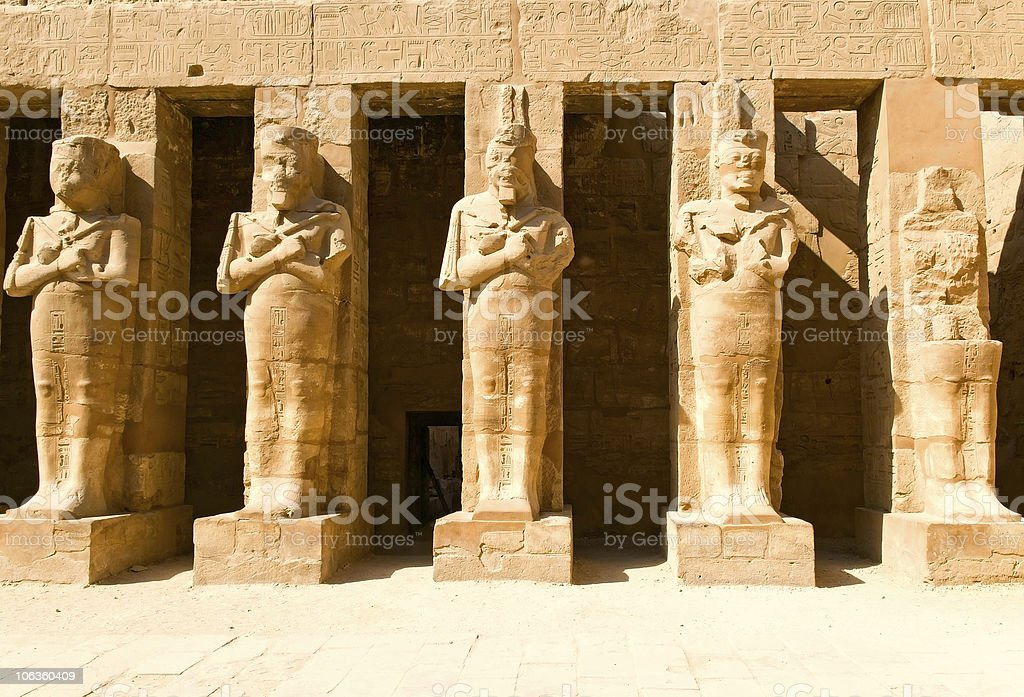 old statues royalty-free stock photo