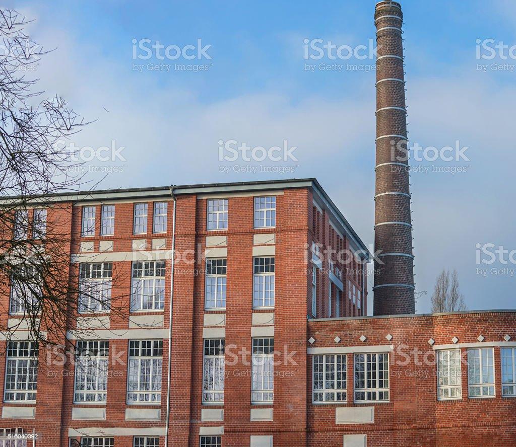 Old steam bakery Velberter, Germany. stock photo