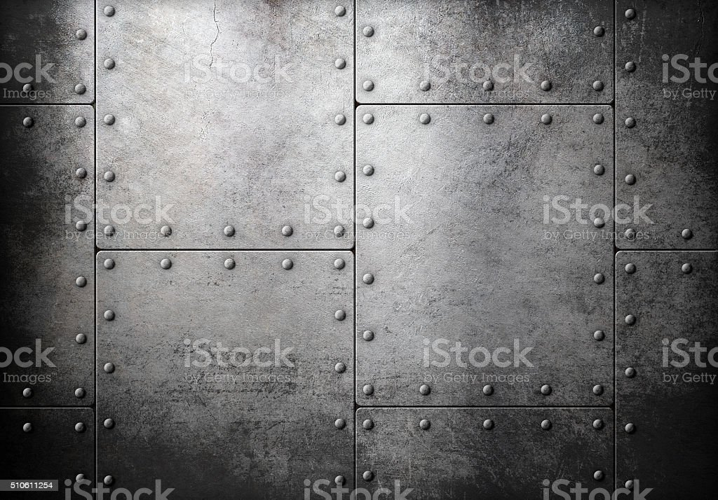 old steel metallic background stock photo