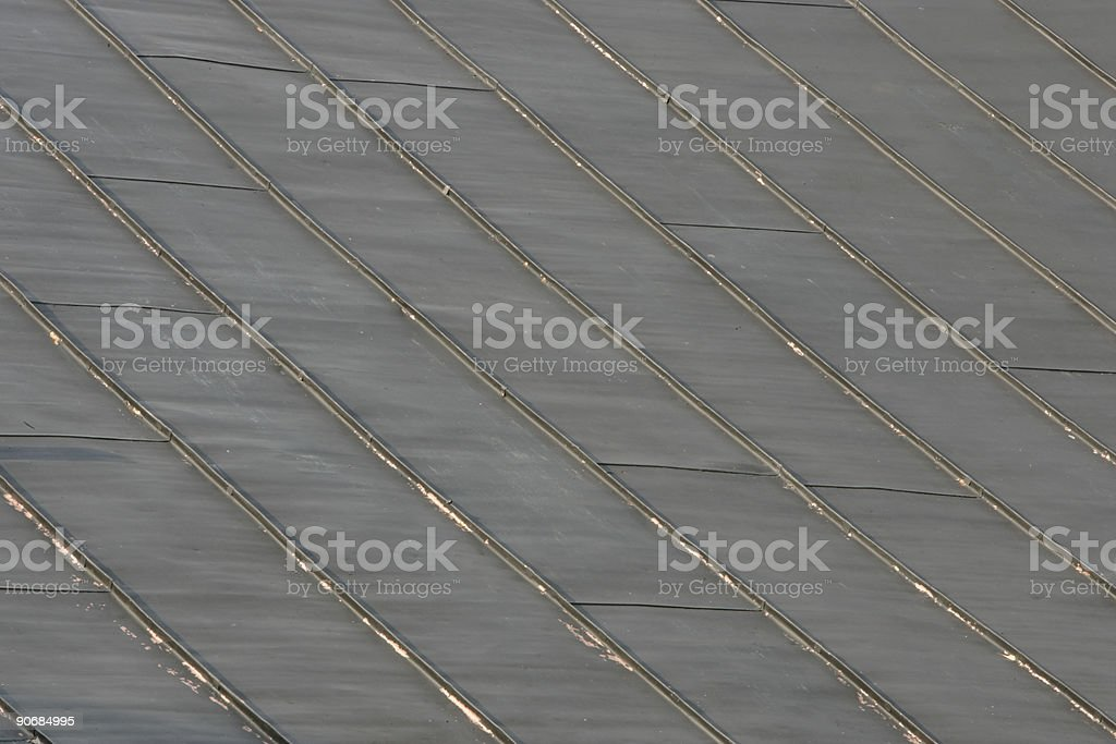 Old Steel Roof II royalty-free stock photo