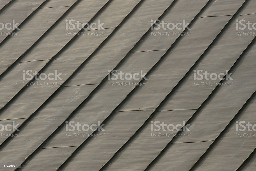 Old Steel Roof royalty-free stock photo