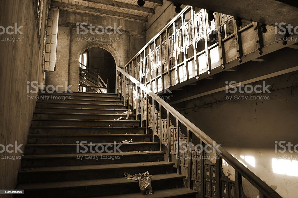 old steps royalty-free stock photo