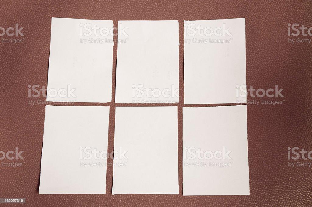 old  sticky Note royalty-free stock photo