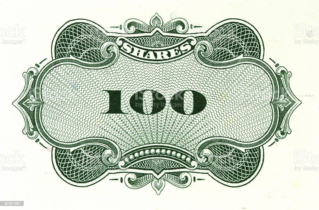 Old stock exchange object stock photo
