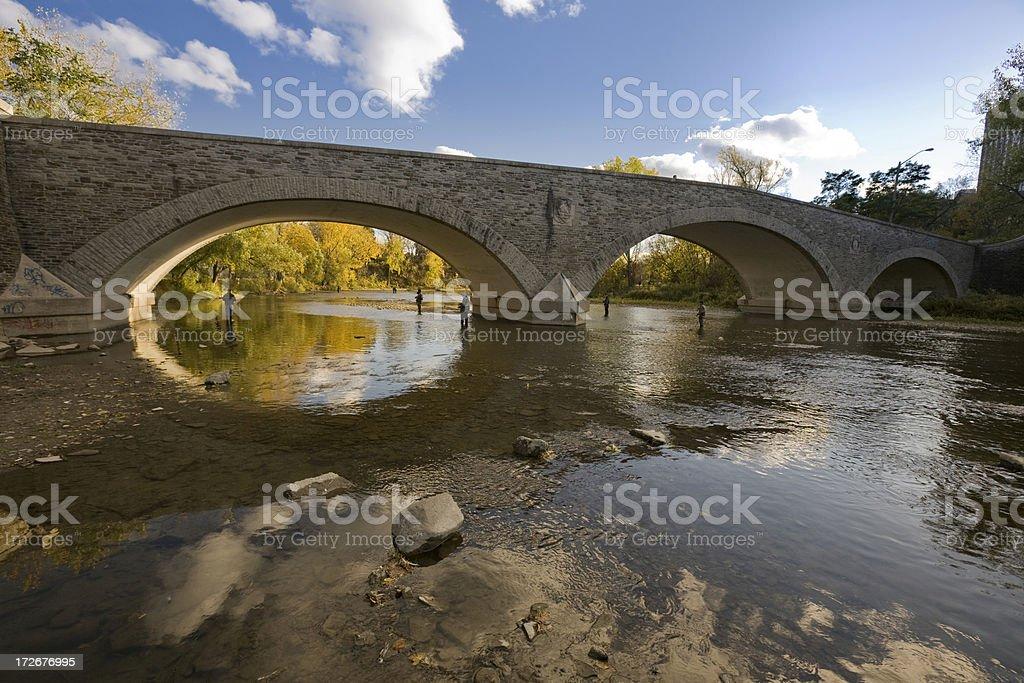 Old Stone Bridge royalty-free stock photo