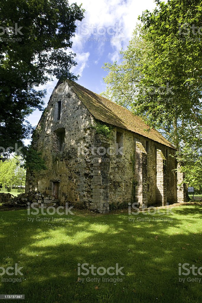 Old Stone House. stock photo