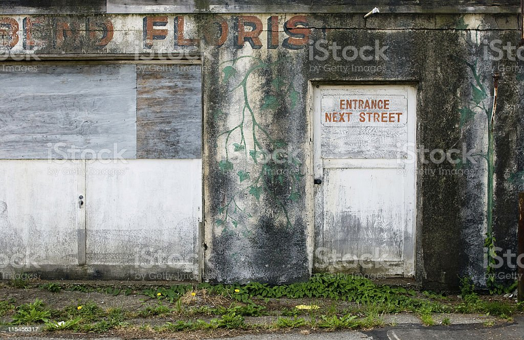 Old Store Front royalty-free stock photo