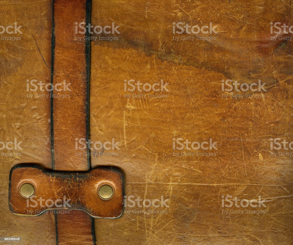XXL Old Strap royalty-free stock photo