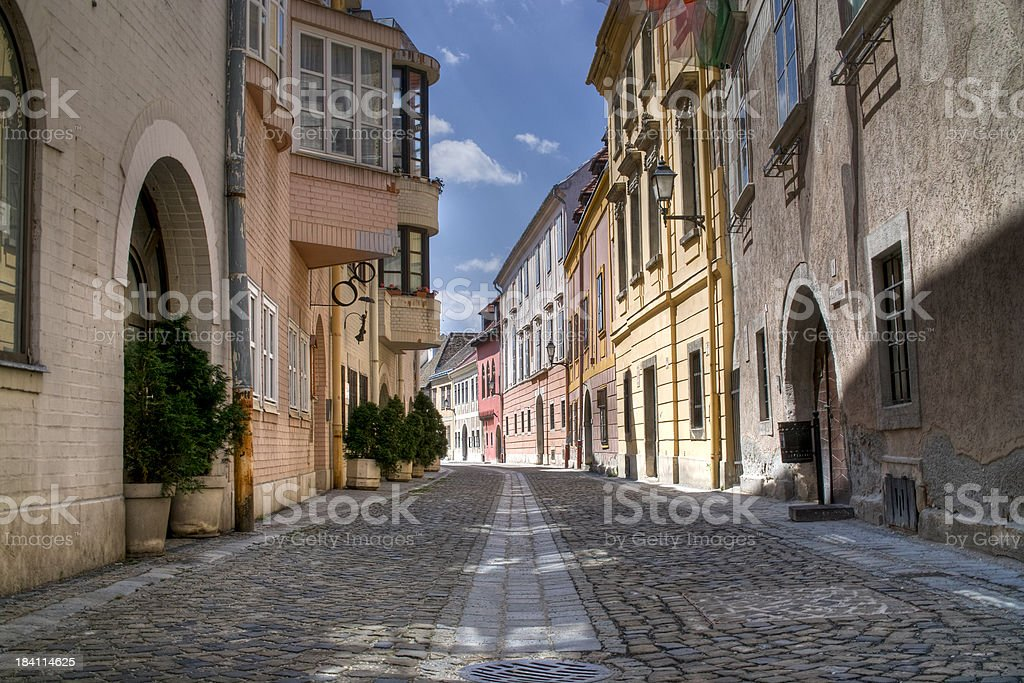 Old Street stock photo