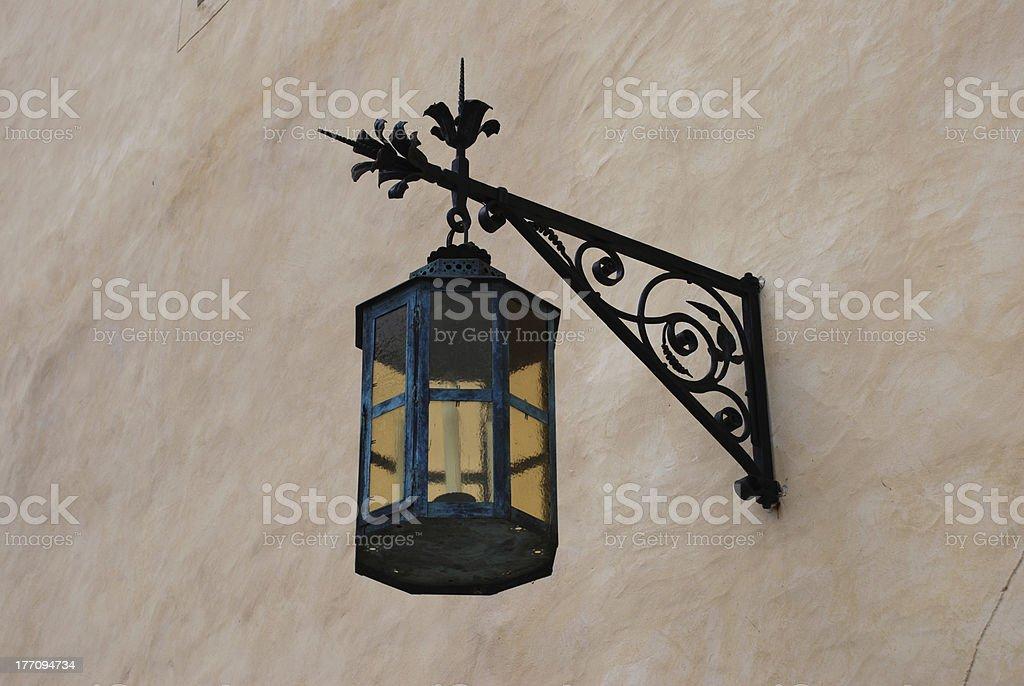 Old Streetlamp royalty-free stock photo