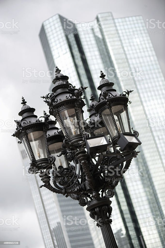 Old Streetlamp stock photo