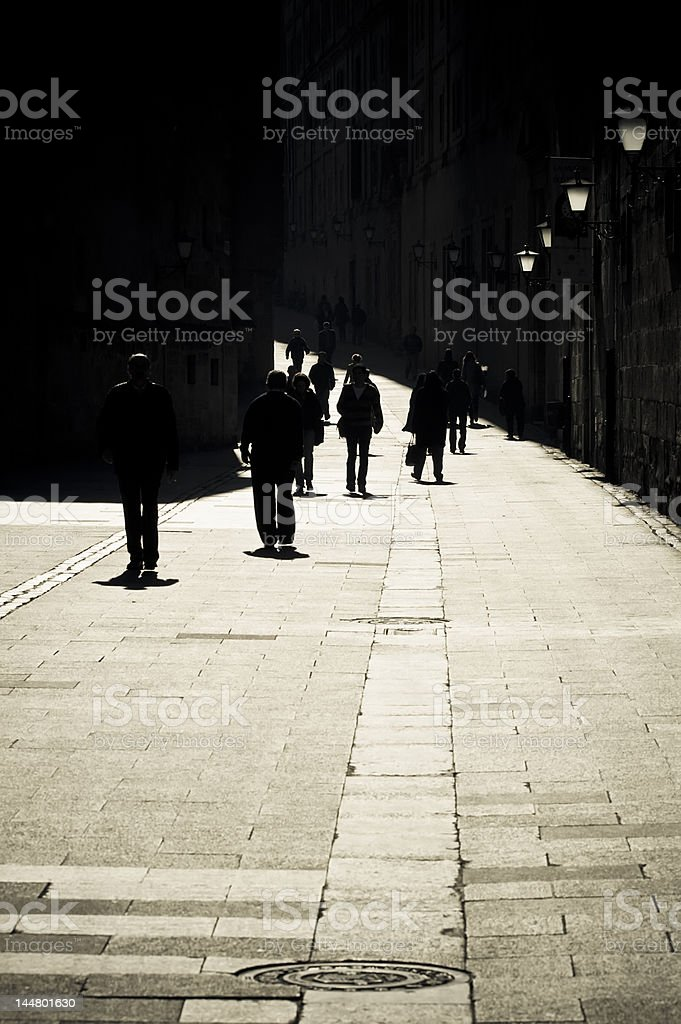 Old streets royalty-free stock photo