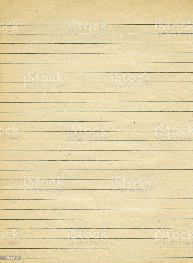 Old Striped paper 1940s stock photo