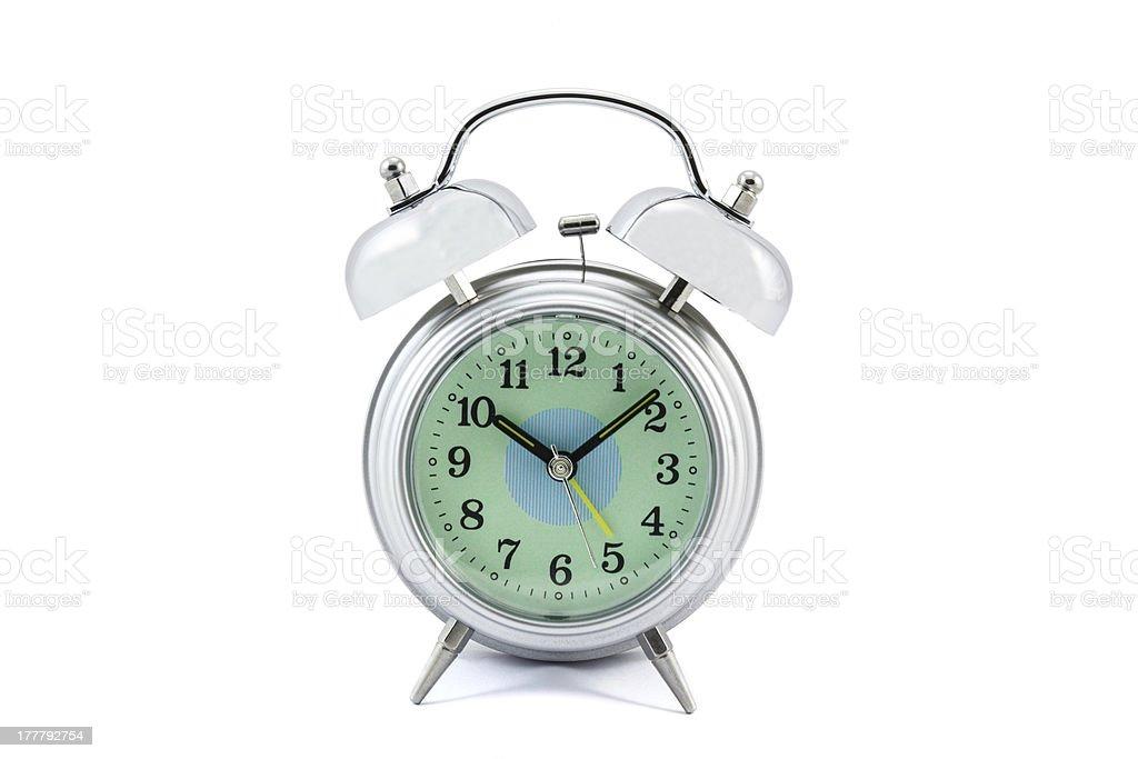 Old style alarm clock royalty-free stock photo