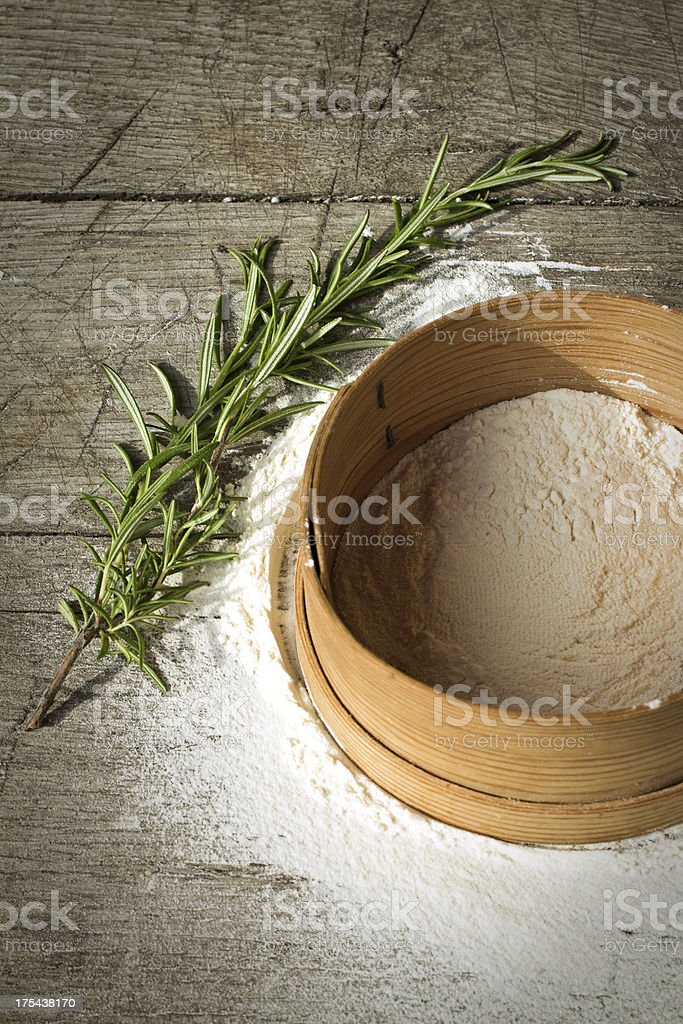 Old Style Baking royalty-free stock photo