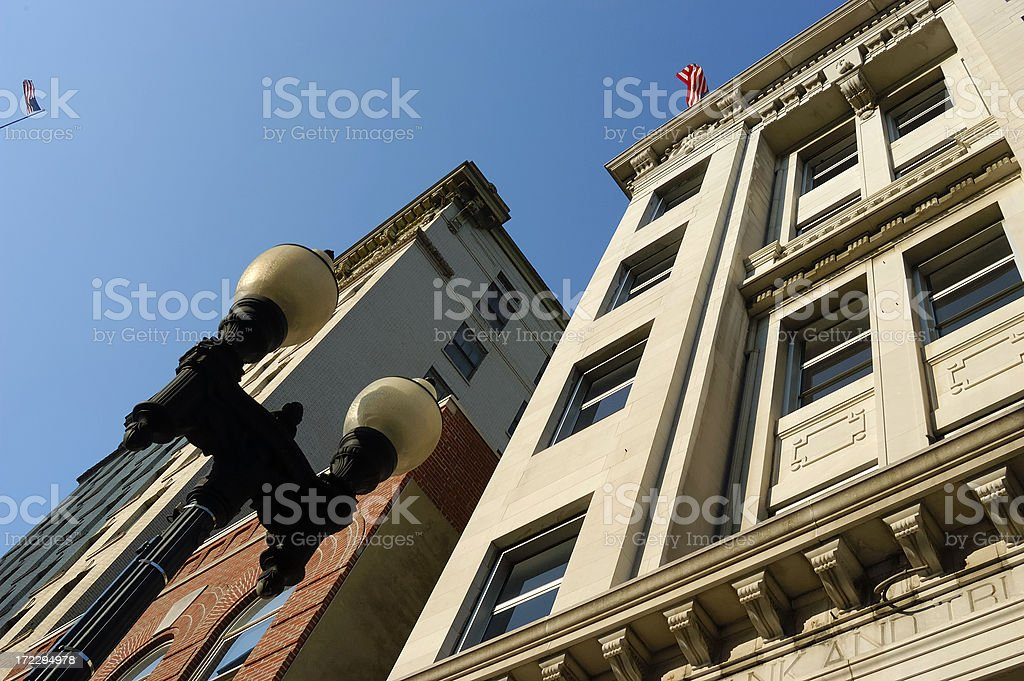 Old Style Brick and Mortar Construction royalty-free stock photo