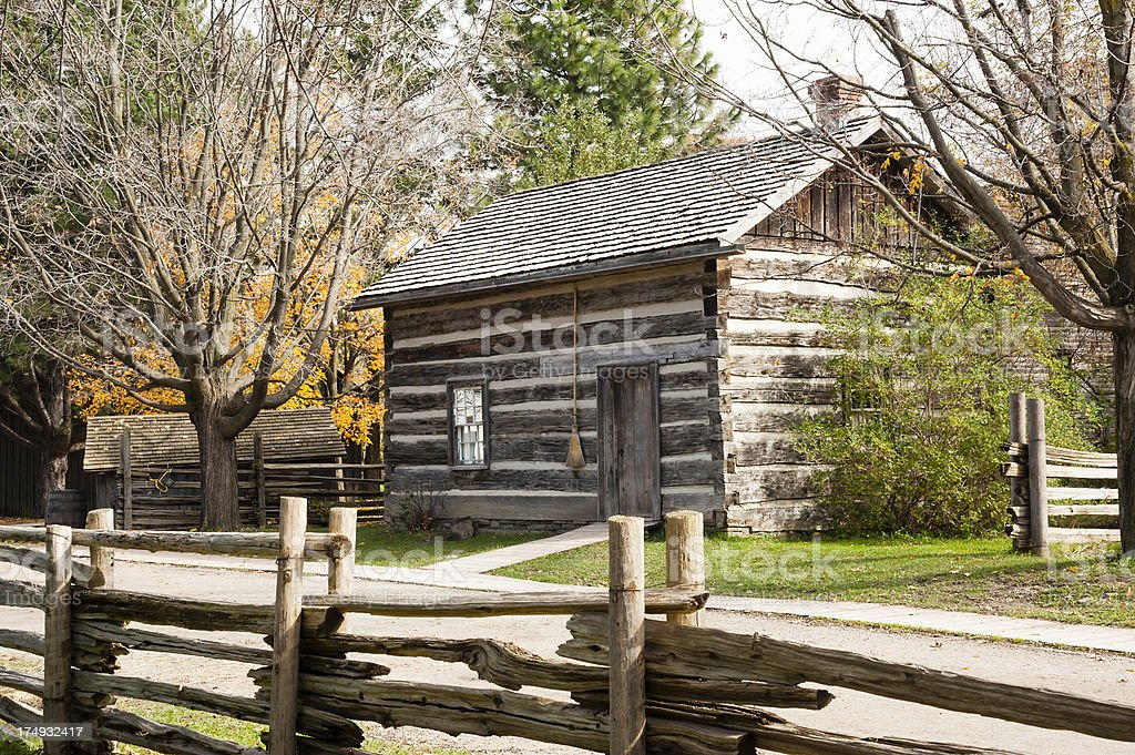 Old Style Cabin royalty-free stock photo