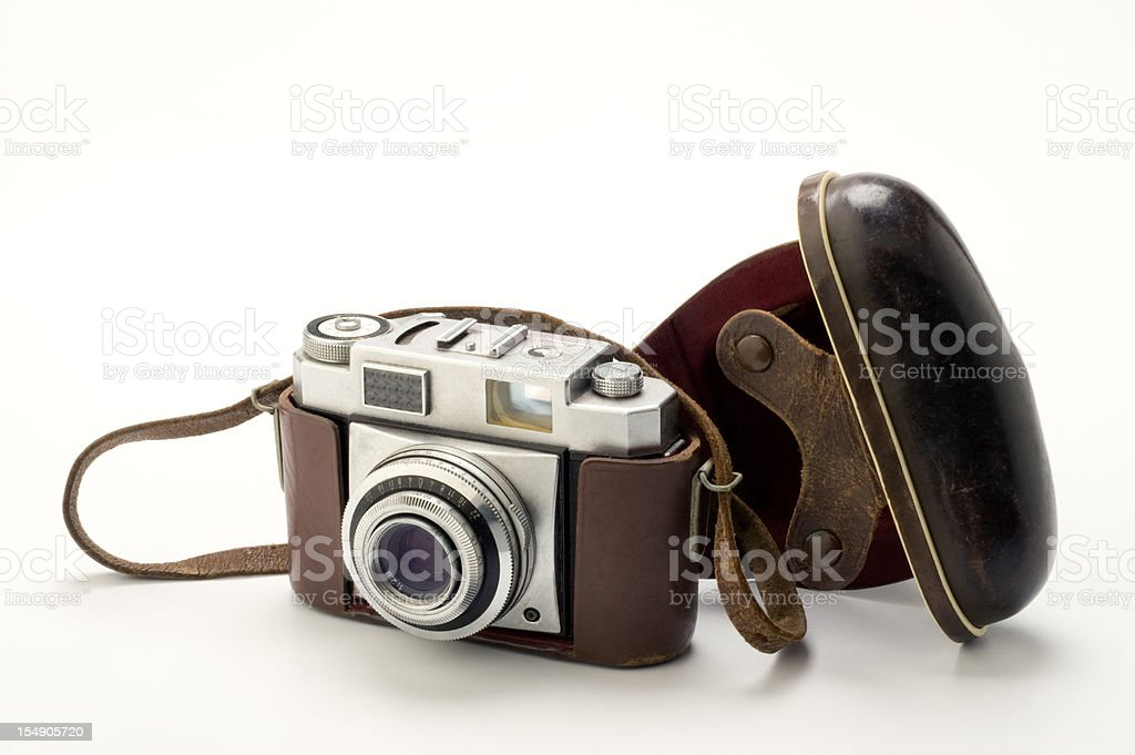 Old style camera royalty-free stock photo
