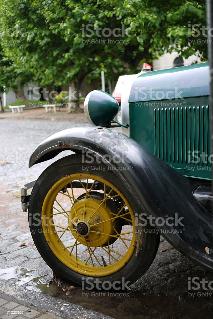Old Style car royalty-free stock photo