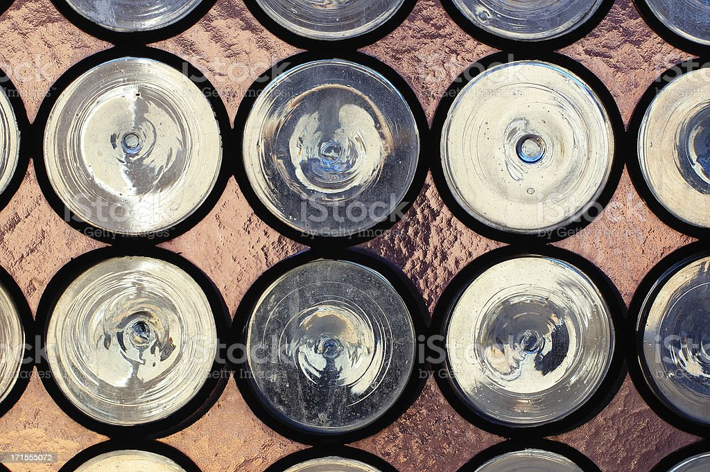 Old Style glass window royalty-free stock photo