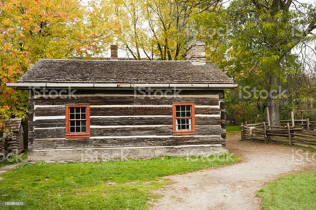 Old Style Homestead royalty-free stock photo