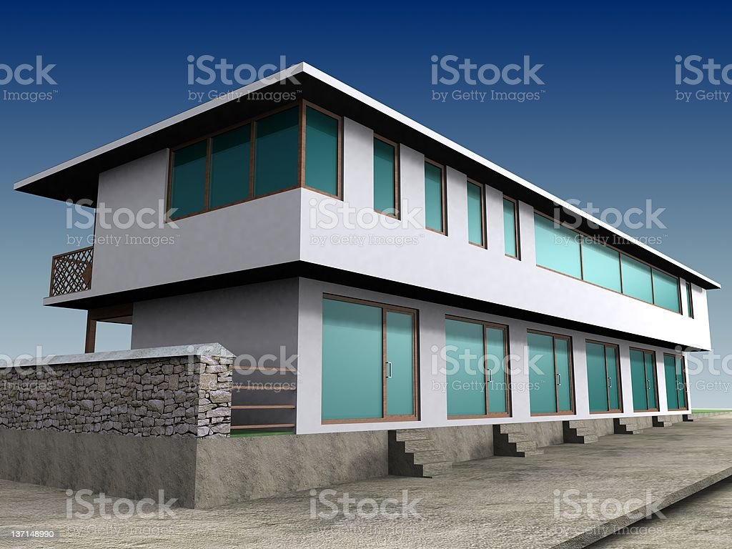 Old style house royalty-free stock photo
