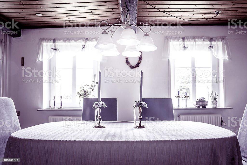 Old style livingroom stock photo