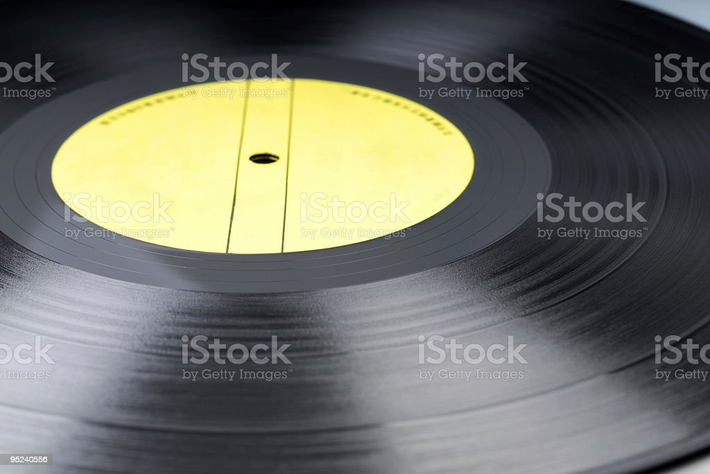Old Style LP stock photo