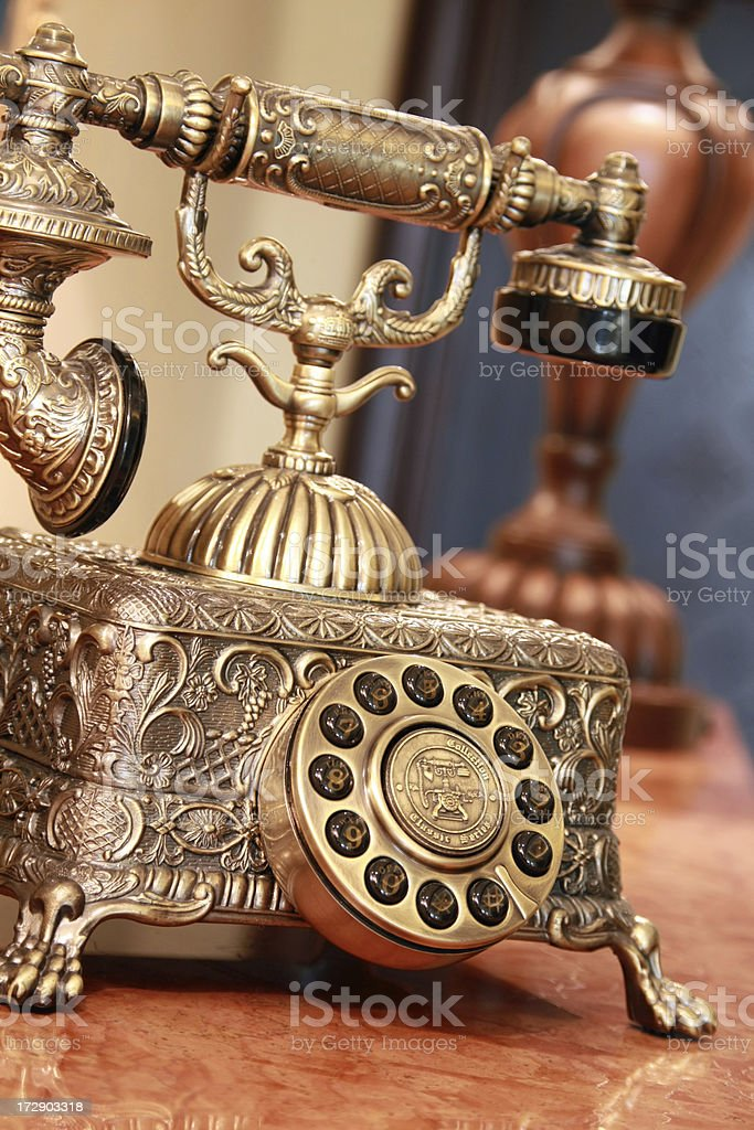 Old Style Phone royalty-free stock photo
