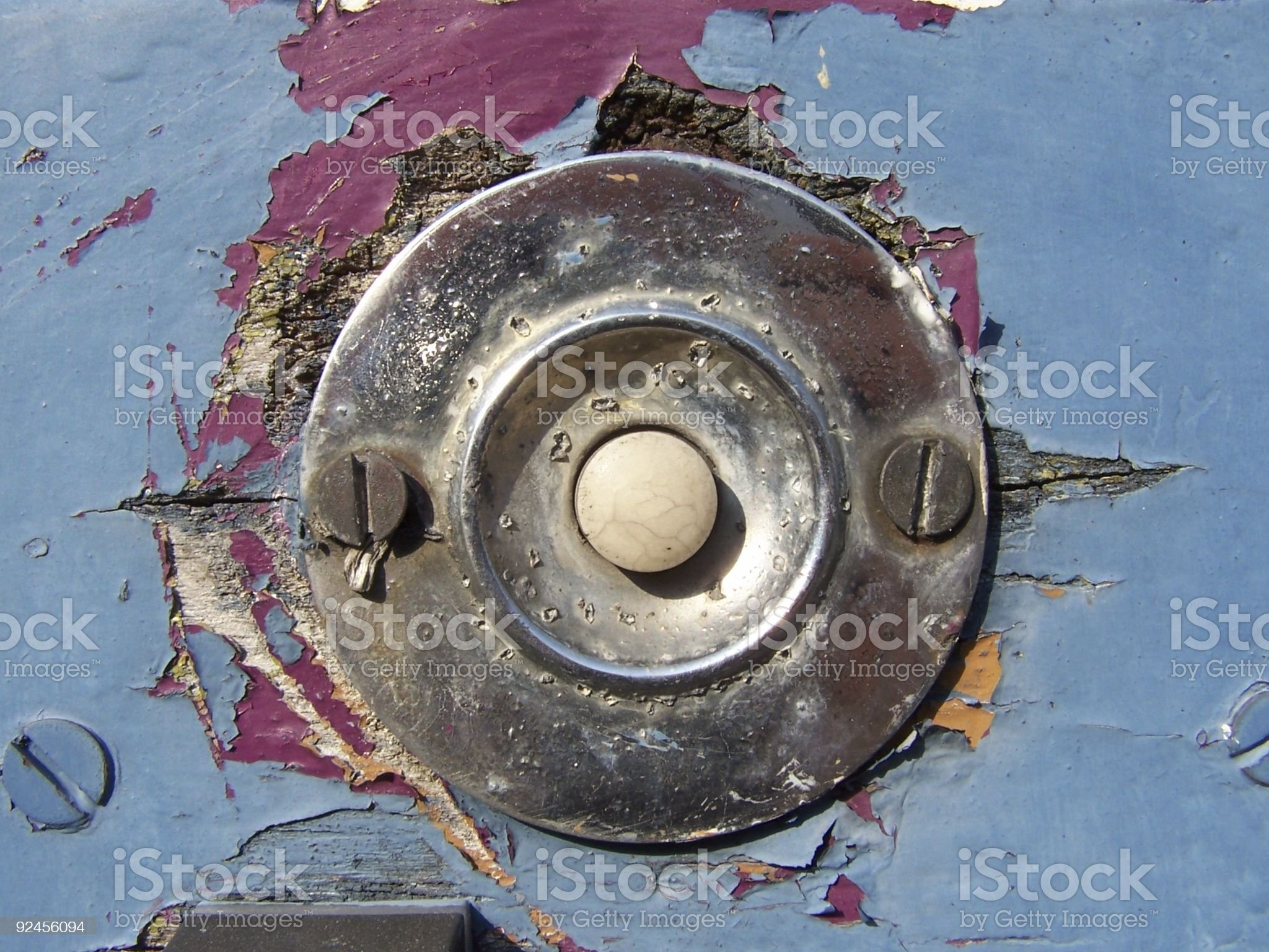 old style ring button royalty-free stock photo