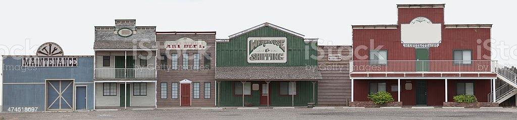 Old Style Store Facade stock photo