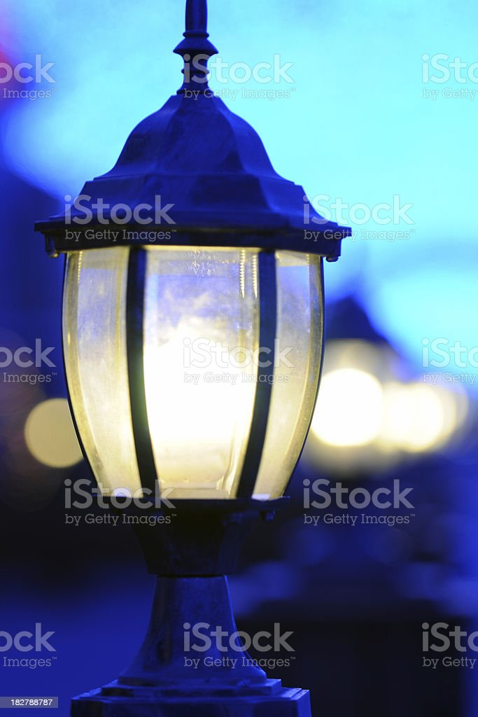 Old Style Street Lamp - XLarge royalty-free stock photo