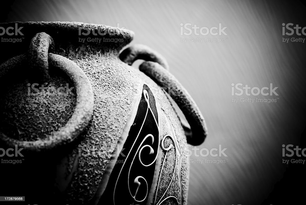old style vase royalty-free stock photo