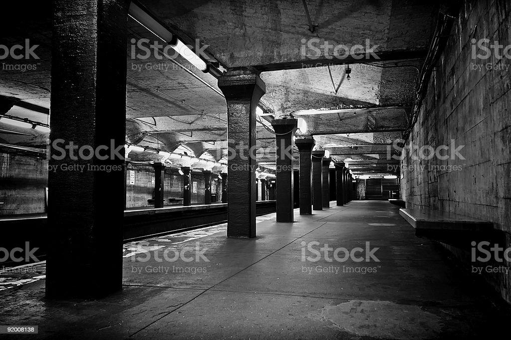 old subway royalty-free stock photo