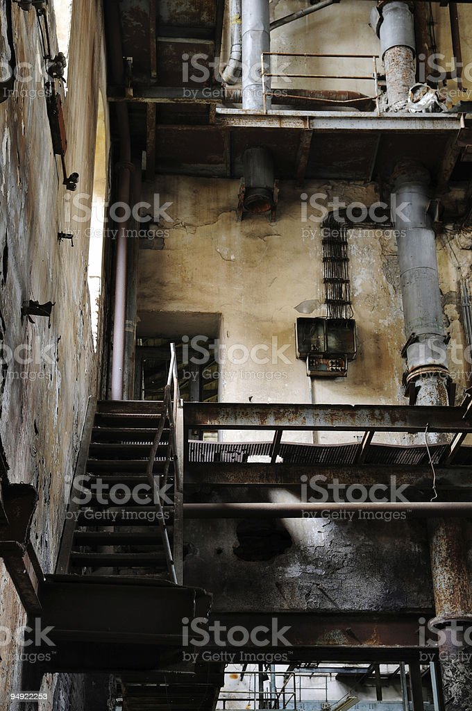 Old sugar factory royalty-free stock photo