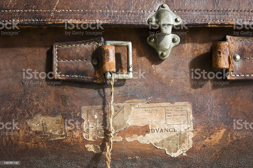 Old suitcase royalty-free stock photo