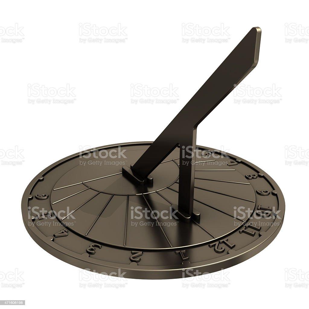 Old Sundial. stock photo