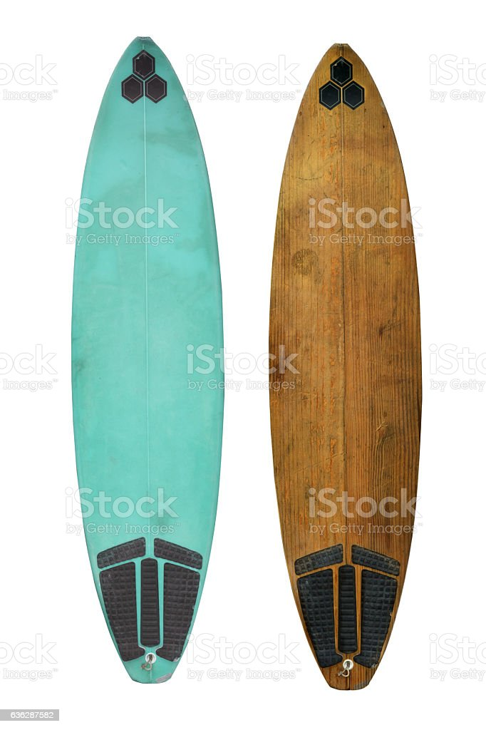 old surf stock photo