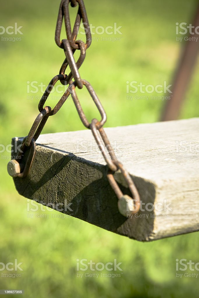 Old Swing royalty-free stock photo