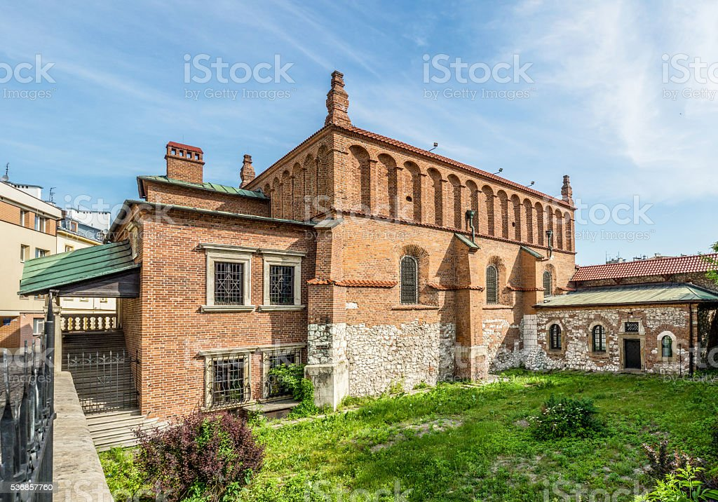Old Synagogue in Krakow stock photo