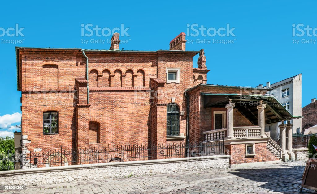 Old Synagogue in Krakow, Poland stock photo