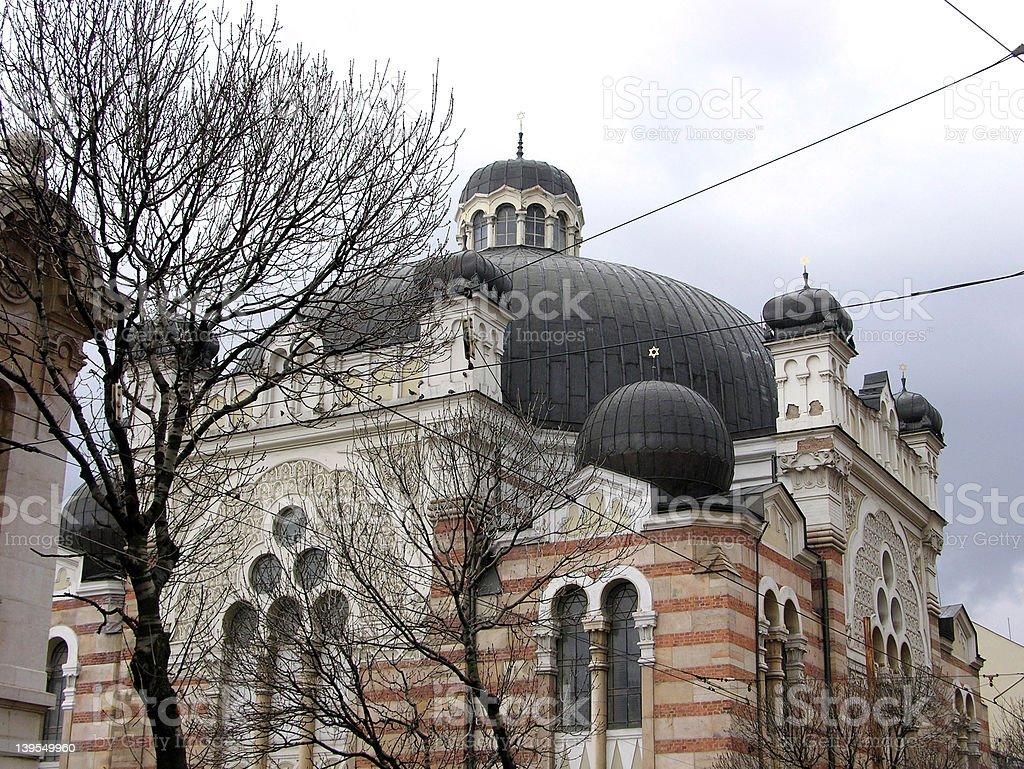 Old synagogue royalty-free stock photo
