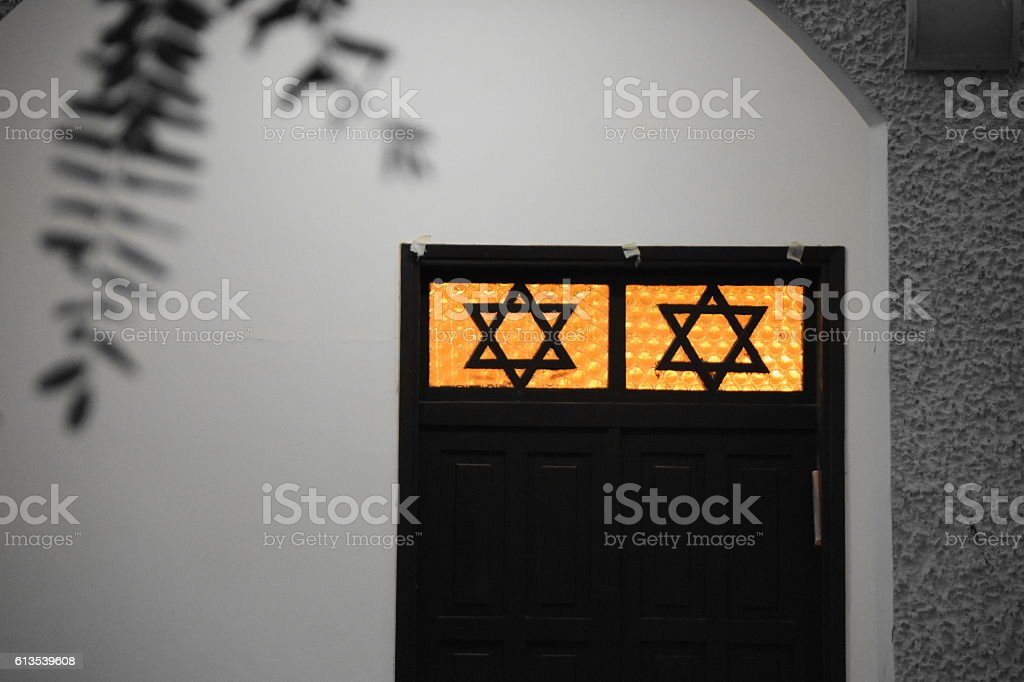 old synagogue stock photo