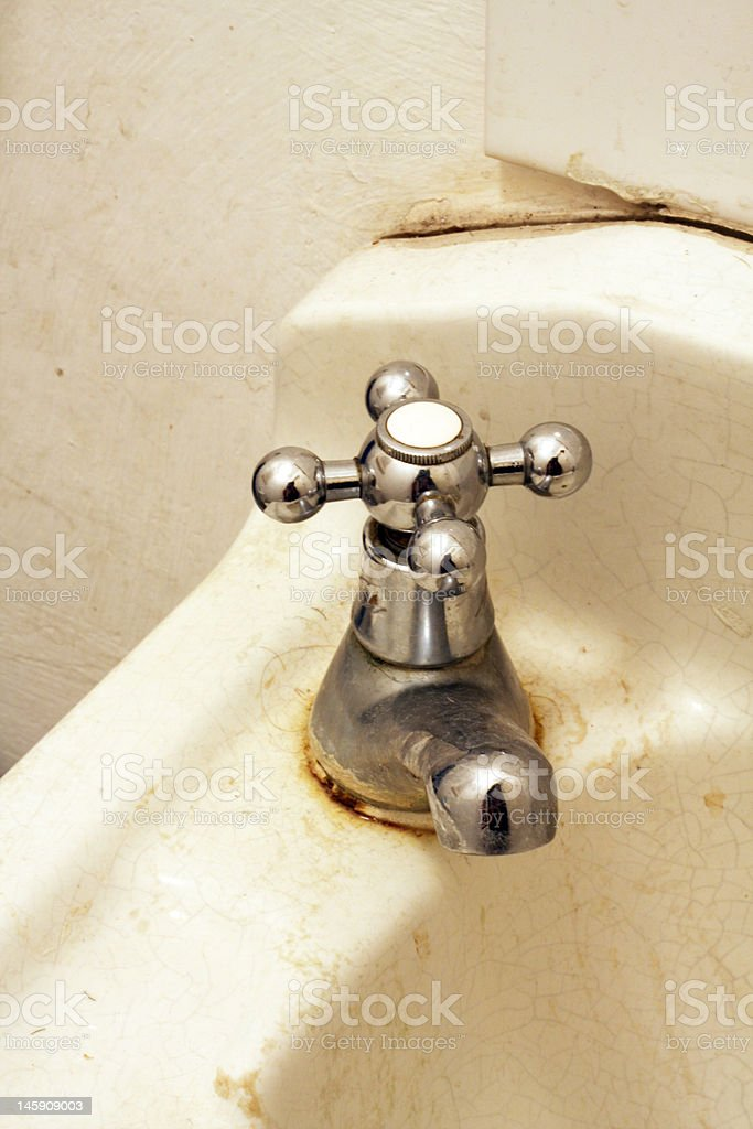 Old tap or faucet royalty-free stock photo