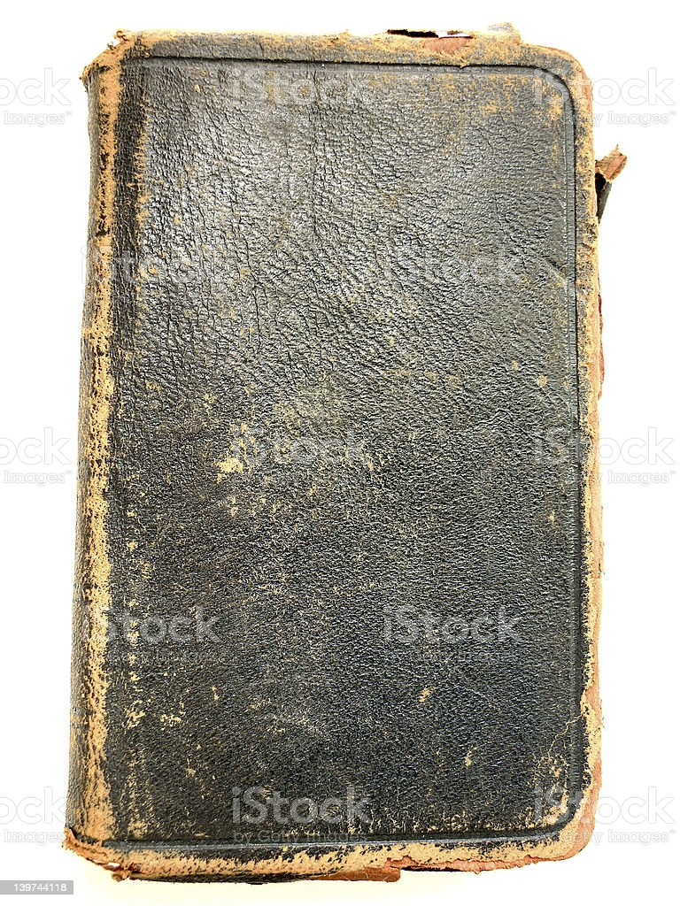 Old Tattered Book (1901) stock photo