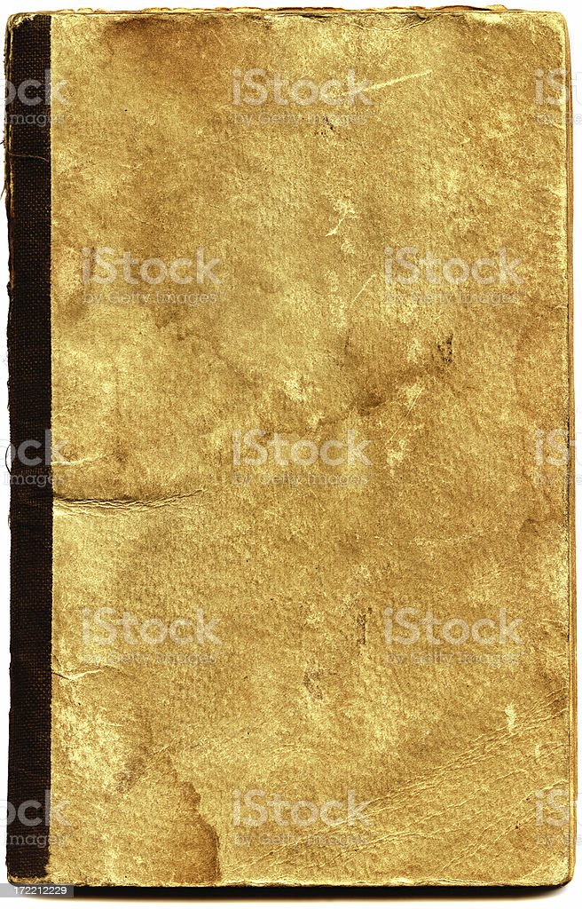 Old Tattered Book royalty-free stock photo