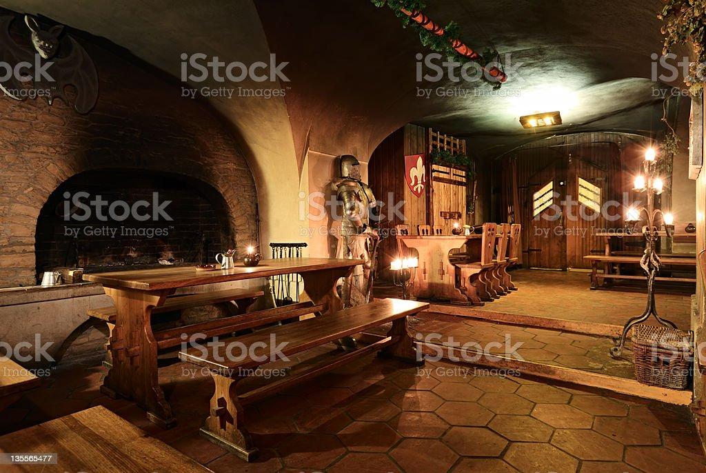 Old tavern, Prague stock photo