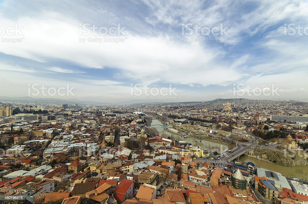 Old Tbilisi royalty-free stock photo