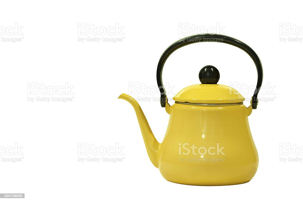 old tea kettle royalty-free stock photo