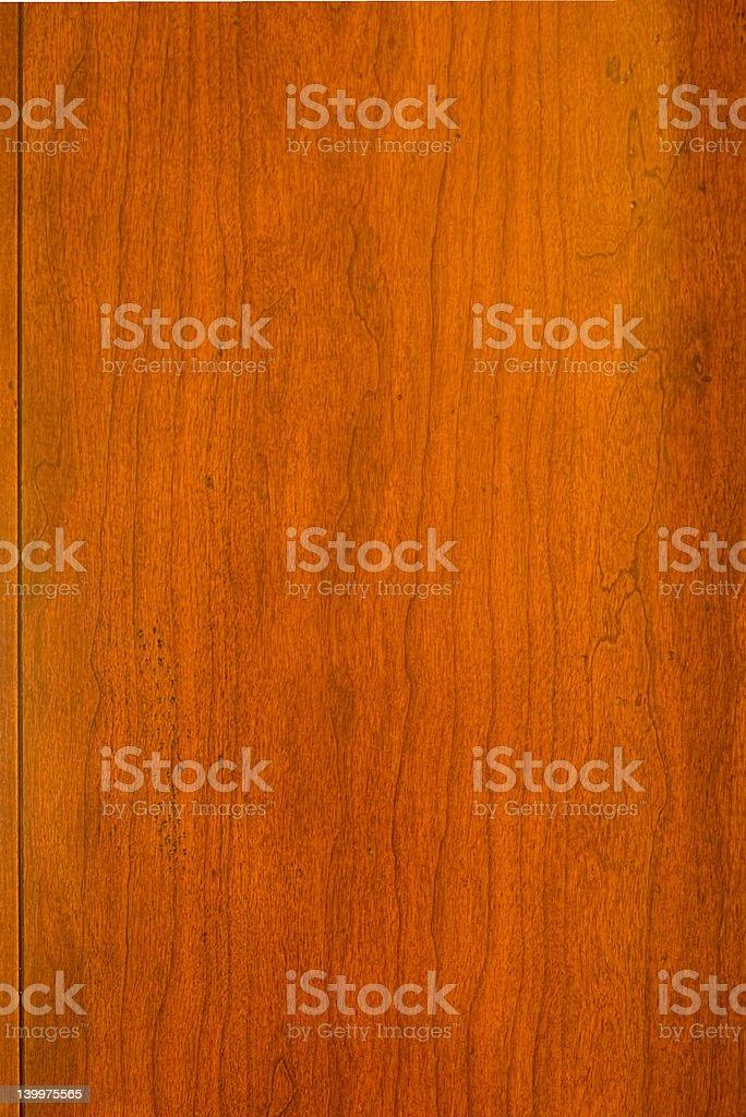 Old teak-wood panel background royalty-free stock photo